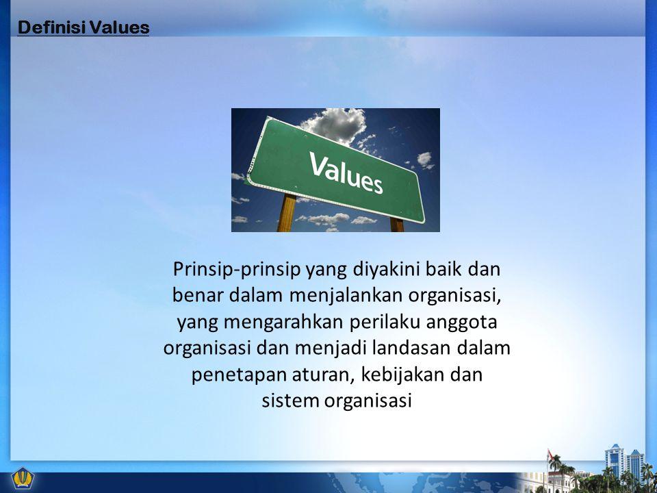 Definisi Values