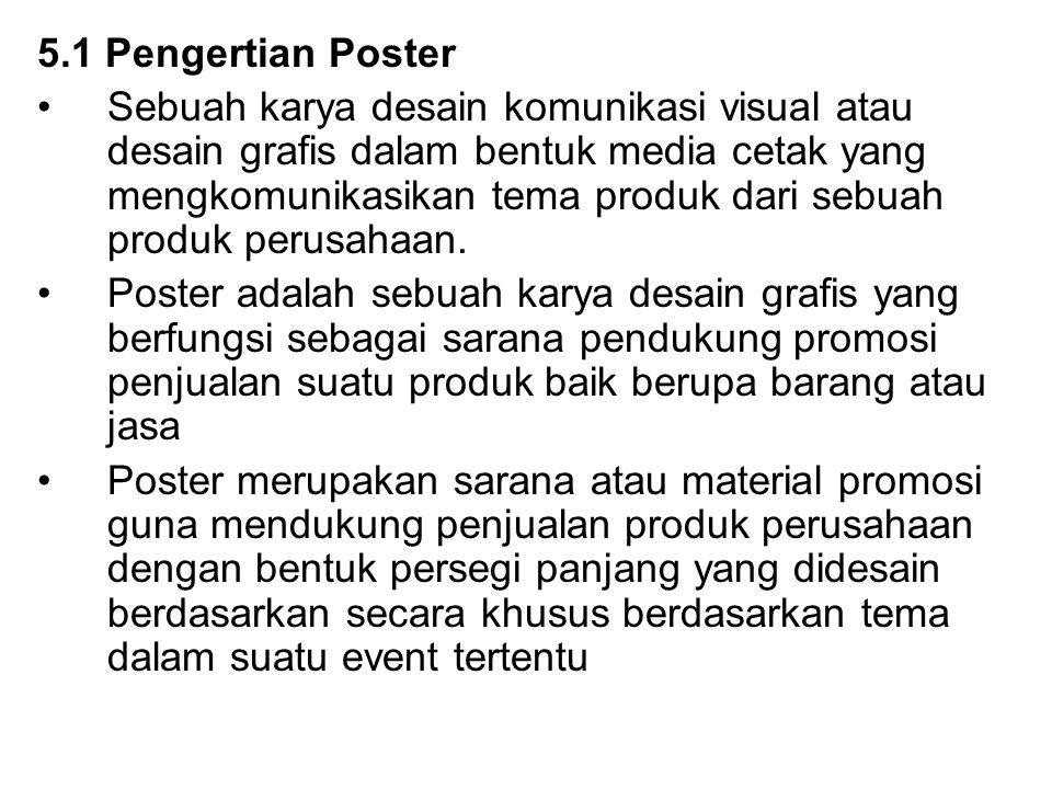 5.1 Pengertian Poster