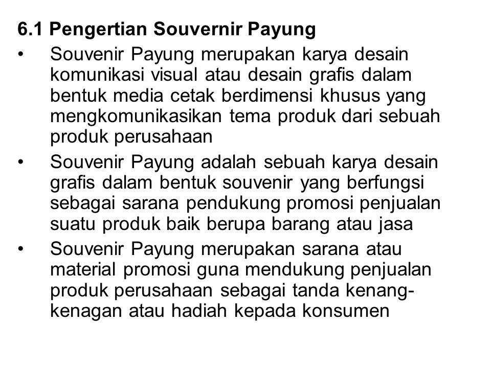 6.1 Pengertian Souvernir Payung