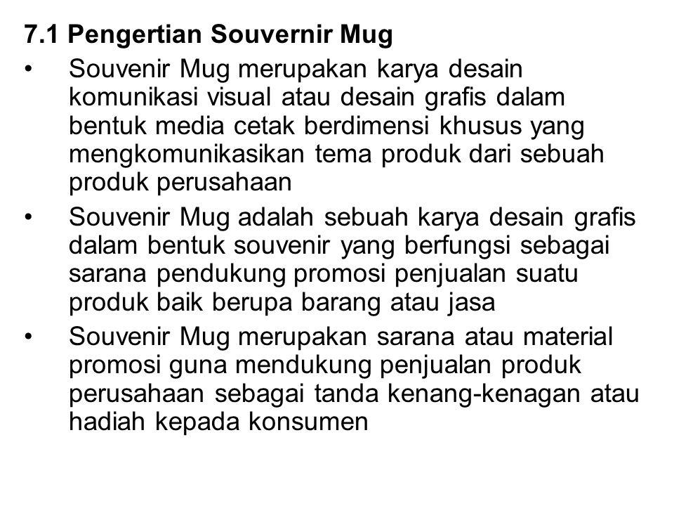 7.1 Pengertian Souvernir Mug