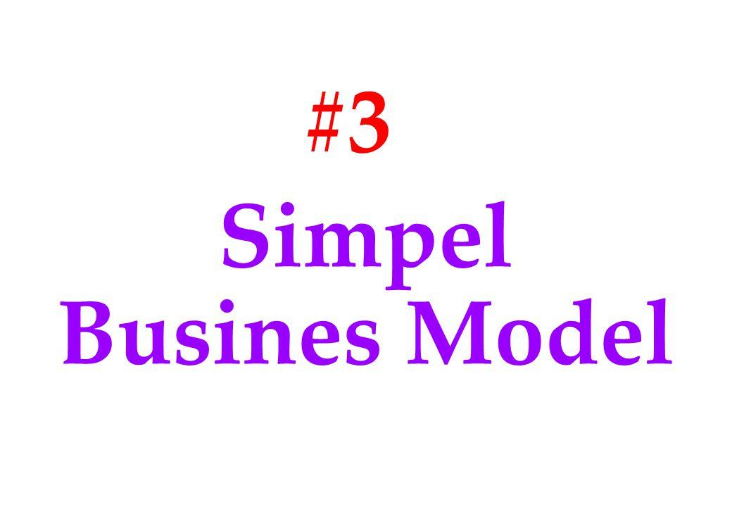 #3 Simpel Busines Model