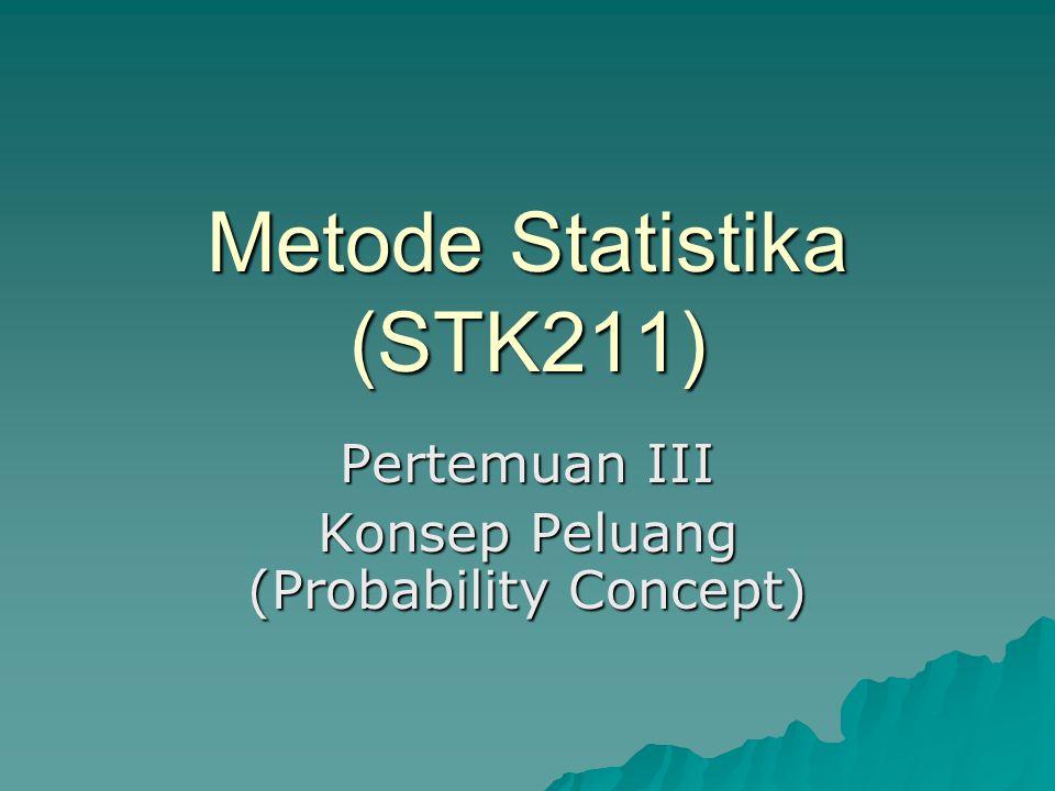 Metode Statistika (STK211)