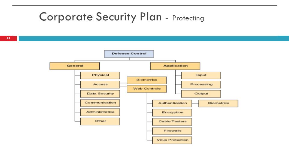 Corporate Security Plan - Protecting