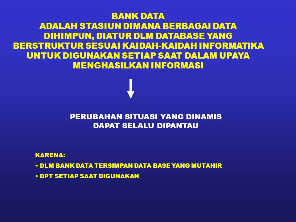 ADALAH STASIUN DIMANA BERBAGAI DATA