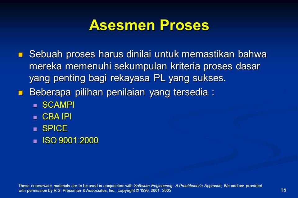 Asesmen Proses