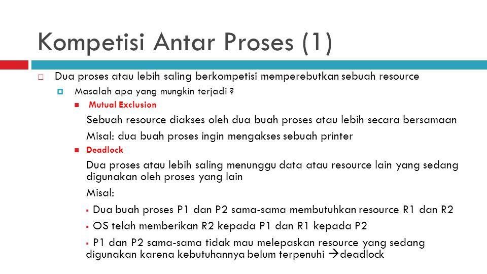 Kompetisi Antar Proses (1)