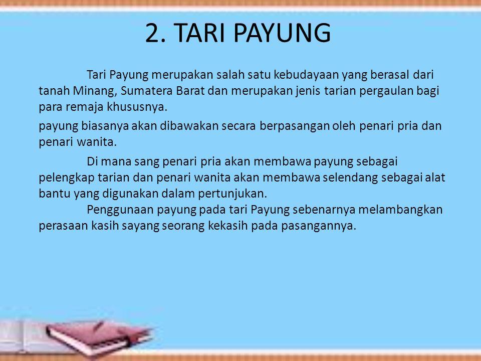 2. TARI PAYUNG