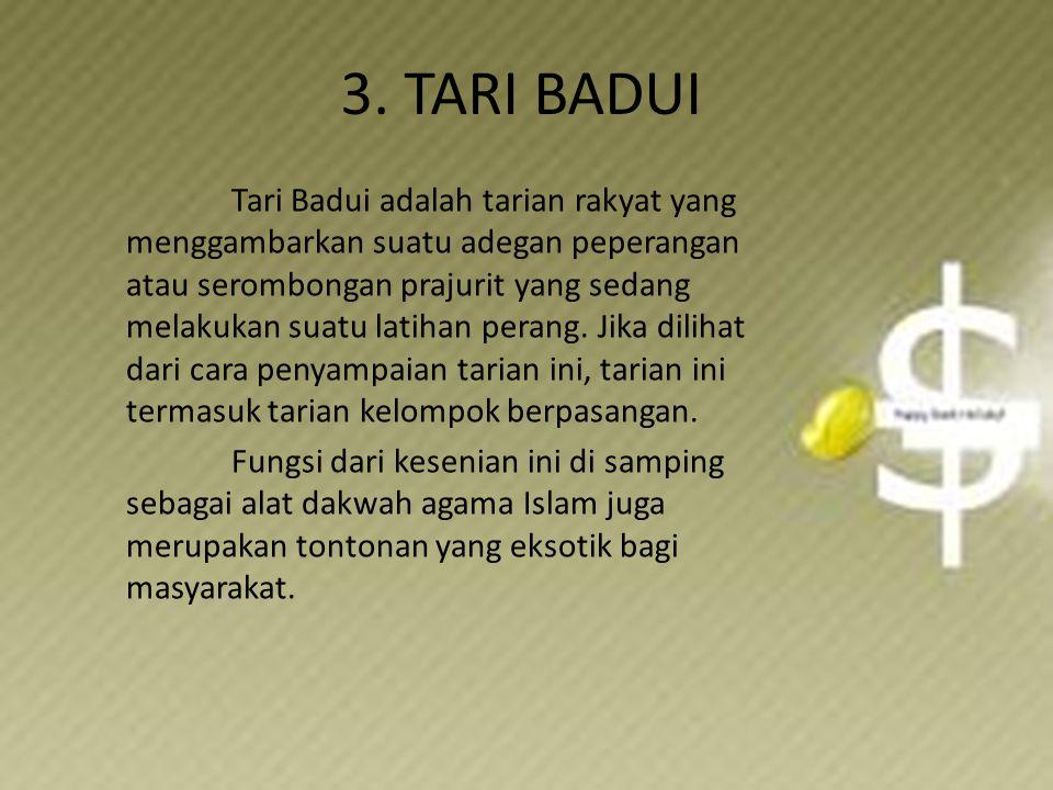 3. TARI BADUI