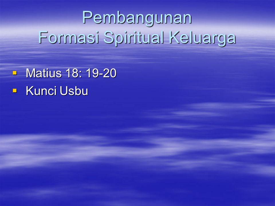 Pembangunan Formasi Spiritual Keluarga