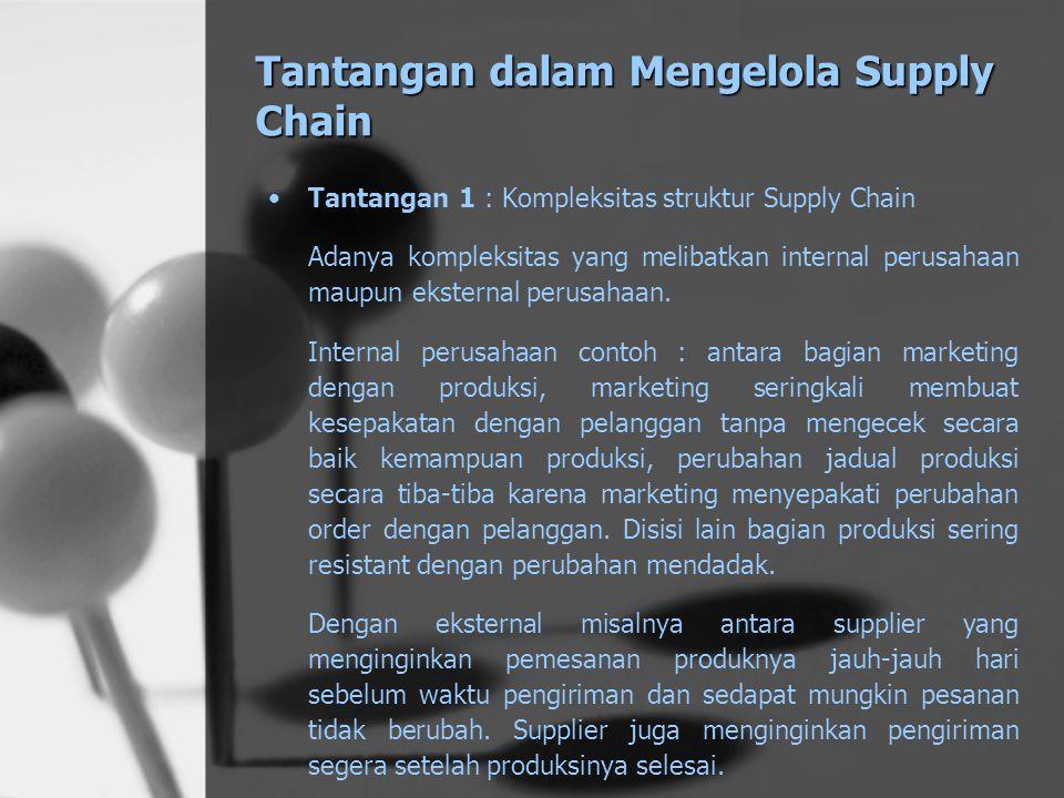 Tantangan dalam Mengelola Supply Chain