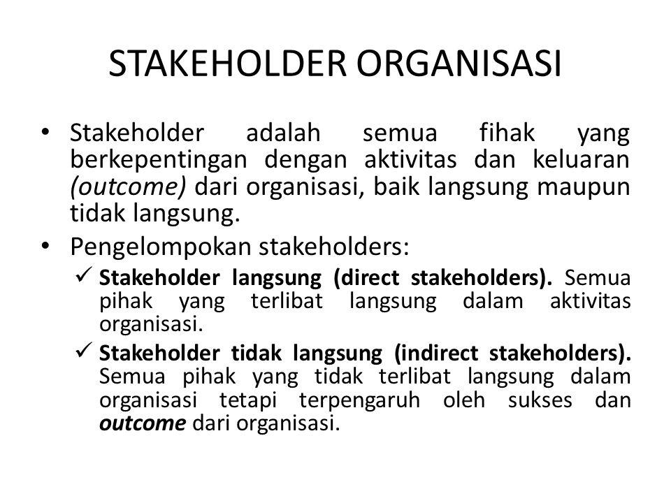 STAKEHOLDER ORGANISASI