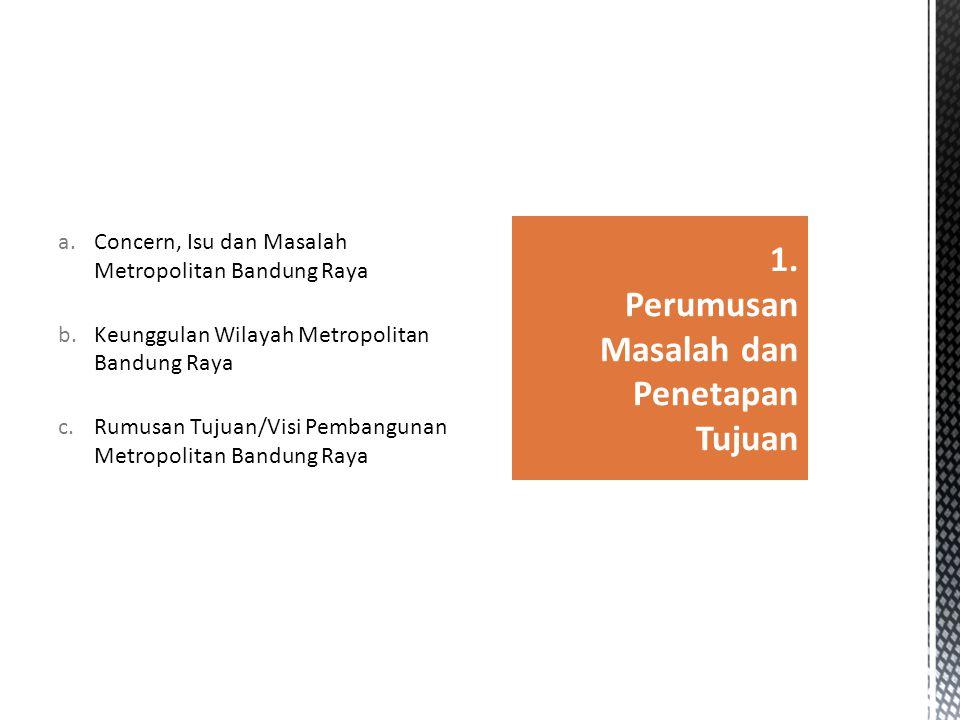 1. Perumusan Masalah dan Penetapan Tujuan