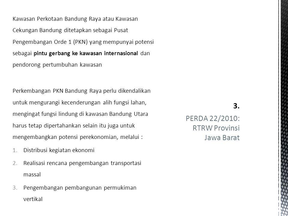 PERDA 22/2010: RTRW Provinsi Jawa Barat