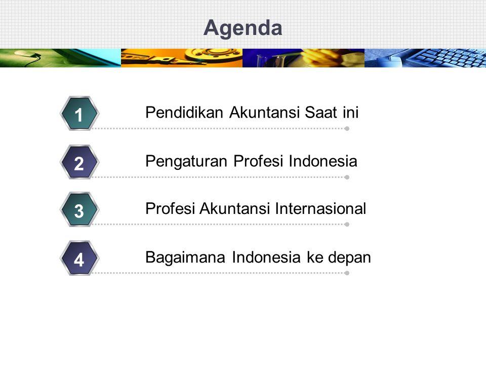 Agenda 1 2 3 4 Pendidikan Akuntansi Saat ini