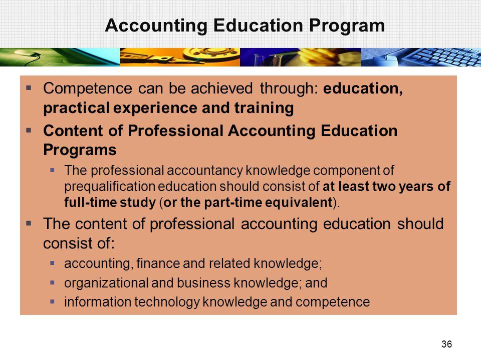 Accounting Education Program