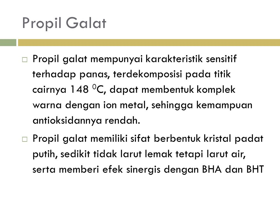 Propil Galat