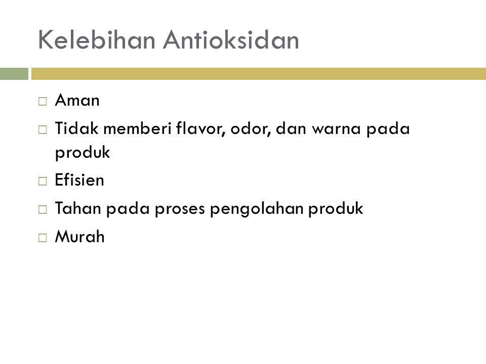 Kelebihan Antioksidan