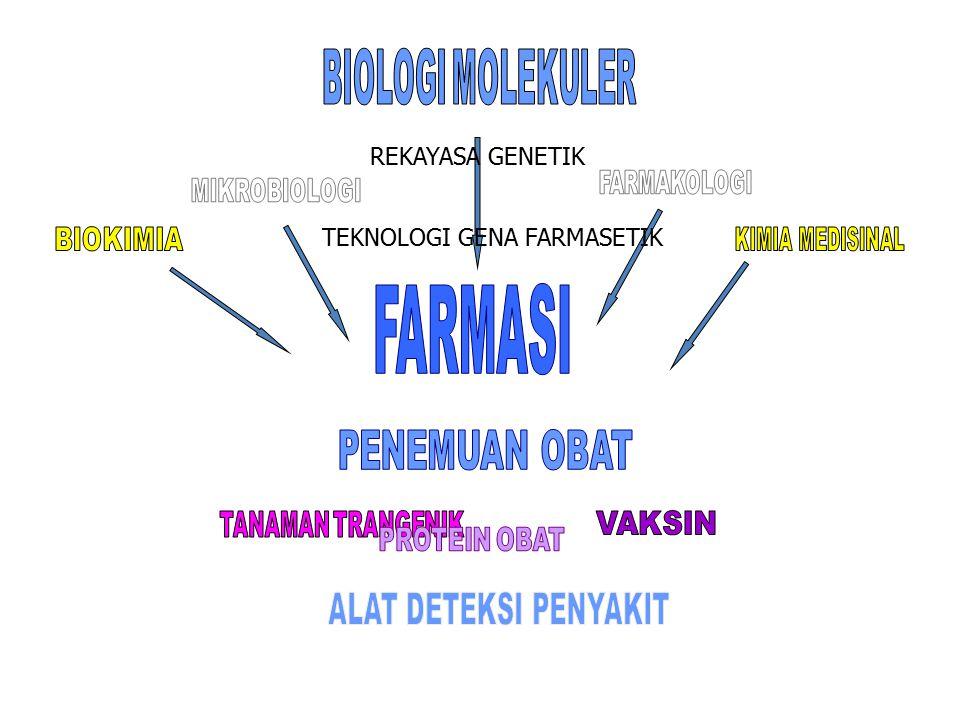 FARMASI BIOLOGI MOLEKULER PROTEIN OBAT REKAYASA GENETIK