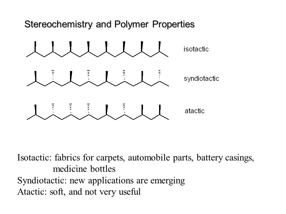Stereochemistry and Polymer Properties