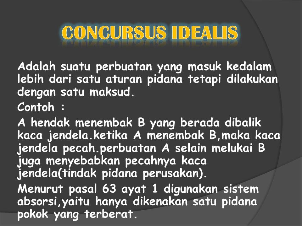 CONCURSUS IDEALIS
