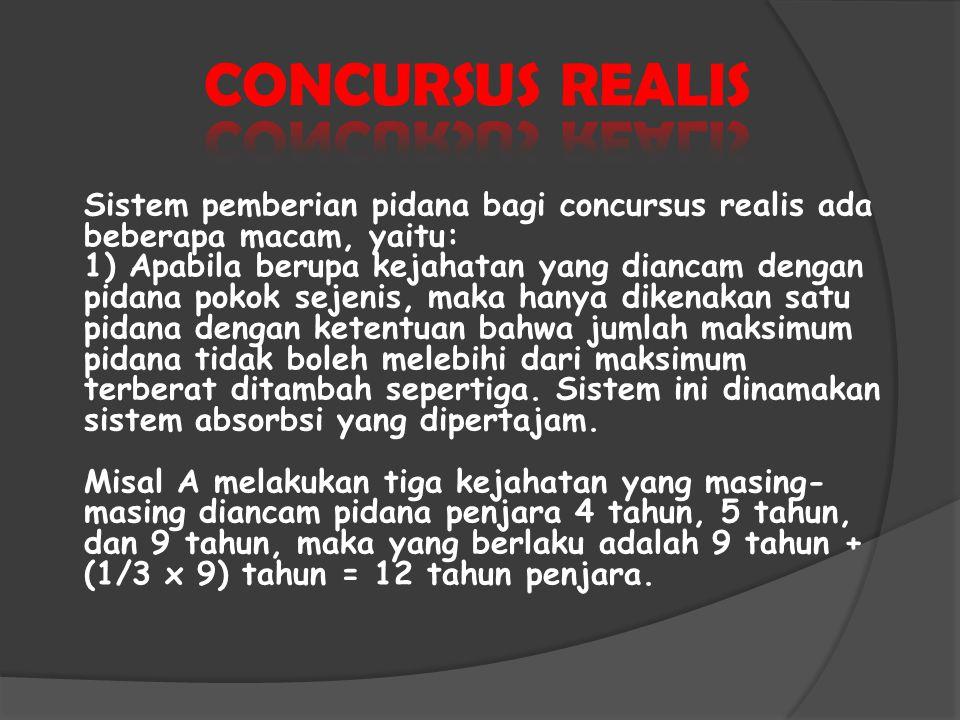 CONCURSUS REALIS