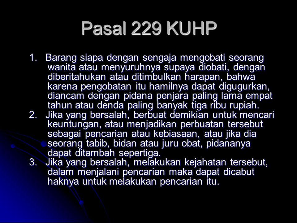 Pasal 229 KUHP