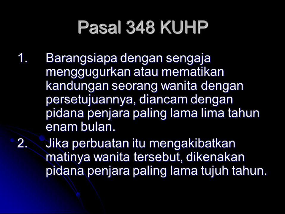 Pasal 348 KUHP