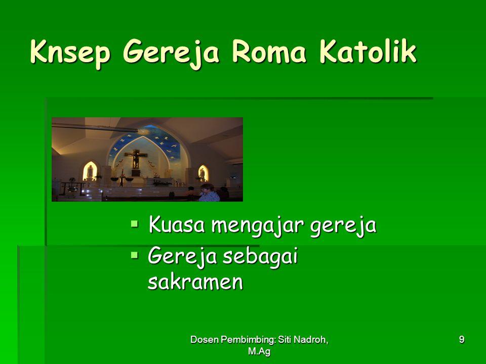 Knsep Gereja Roma Katolik