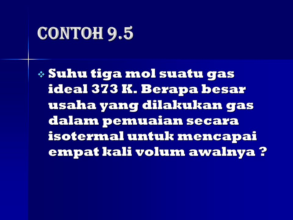 Contoh 9.5