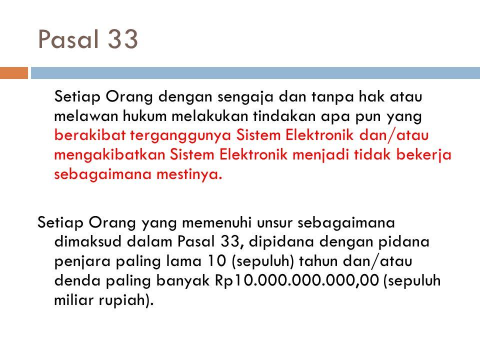 Pasal 33
