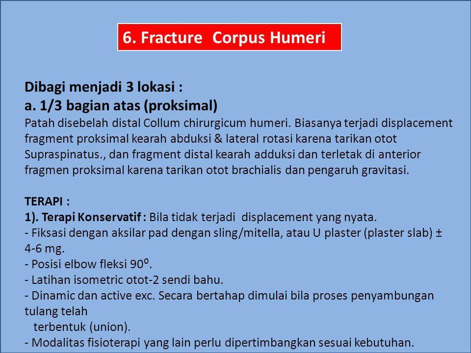 6. Fracture Corpus Humeri