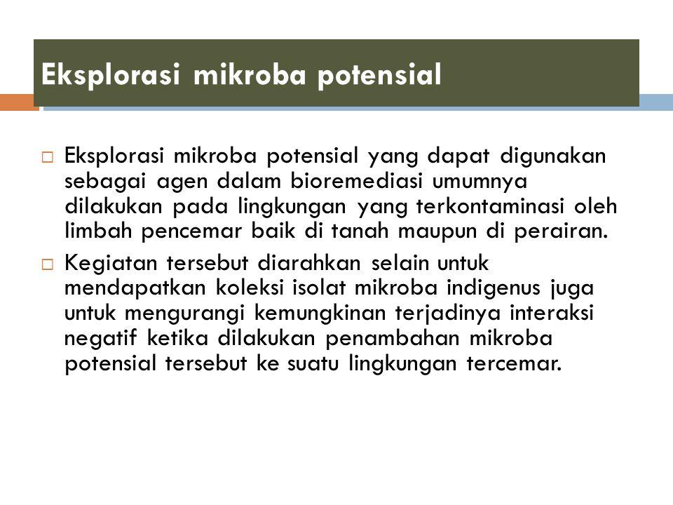 Eksplorasi mikroba potensial