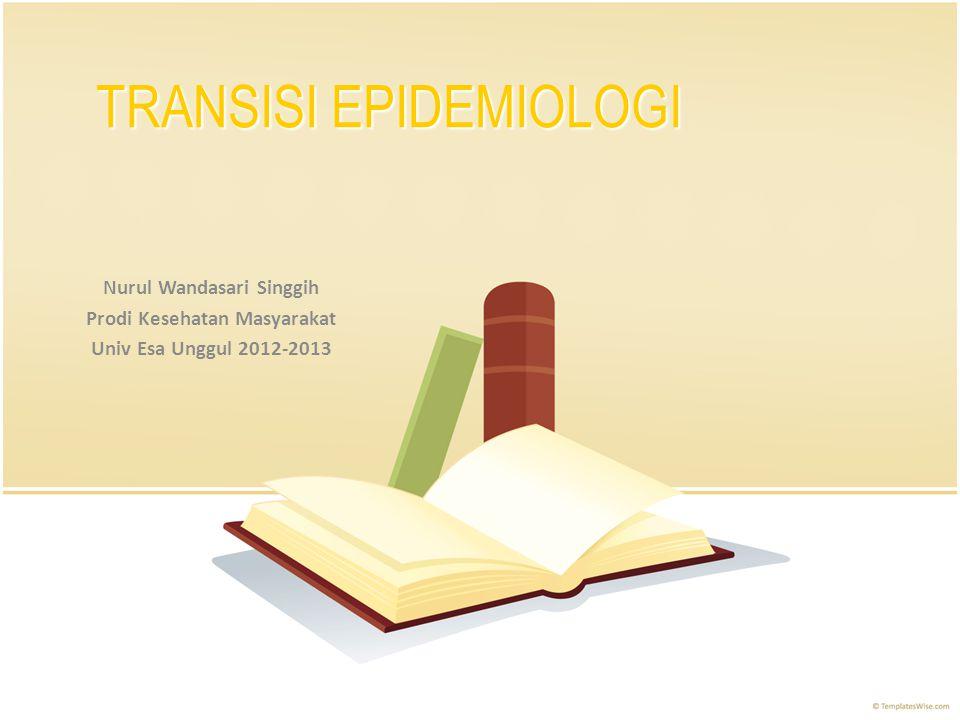 TRANSISI EPIDEMIOLOGI