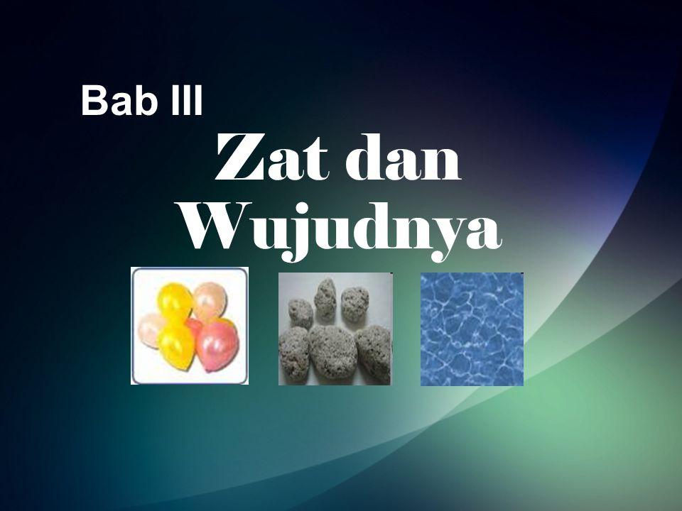 Bab III Zat dan Wujudnya