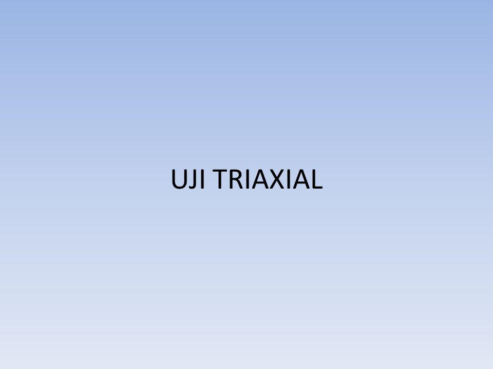 UJI TRIAXIAL