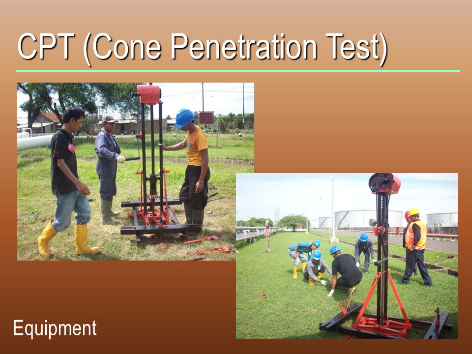 CPT (Cone Penetration Test)