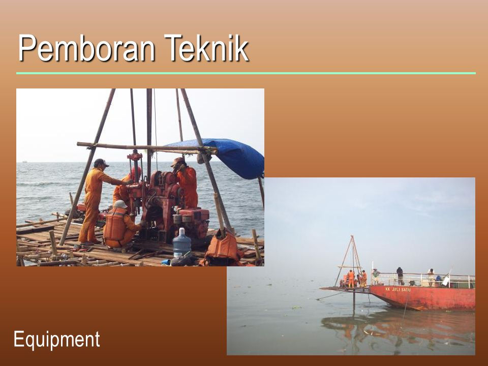 Pemboran Teknik Equipment