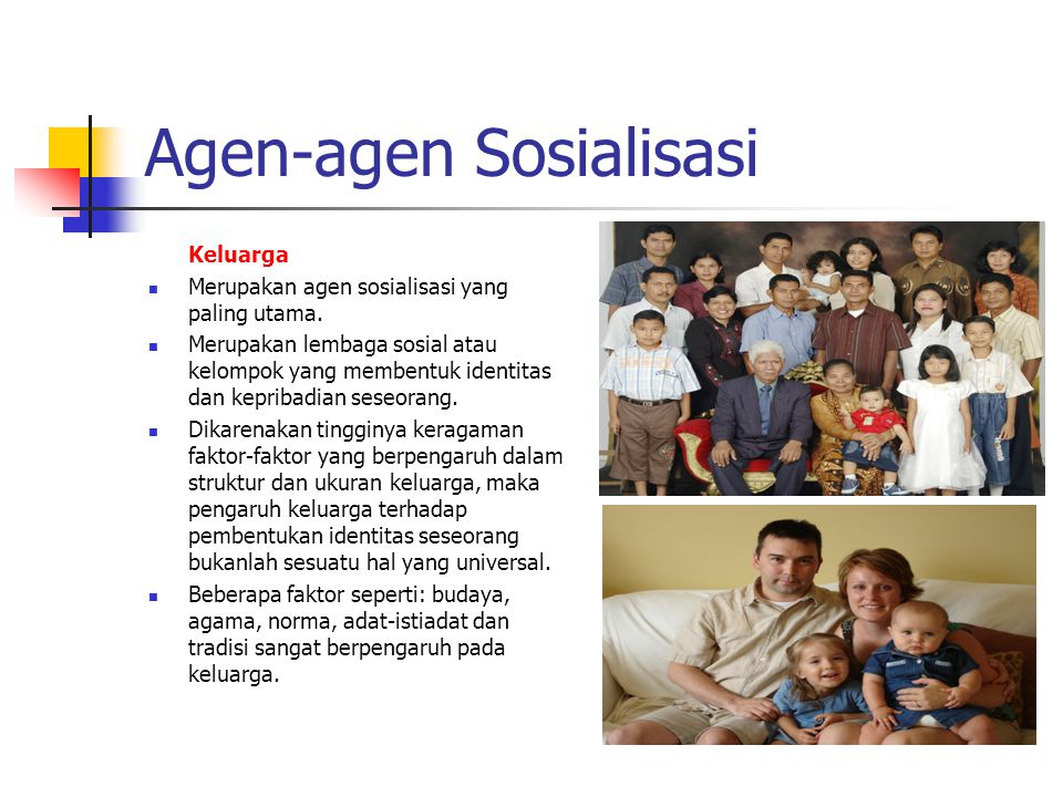Agen-agen Sosialisasi