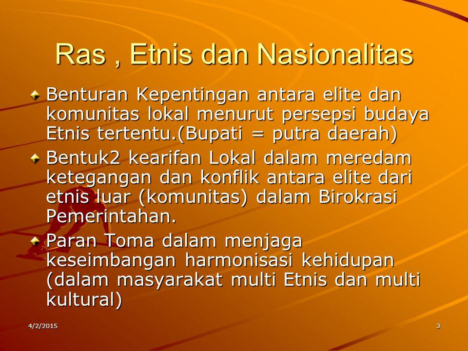 Ras , Etnis dan Nasionalitas
