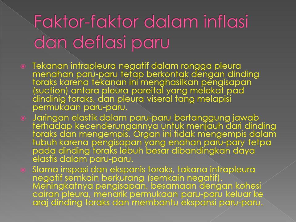 Faktor-faktor dalam inflasi dan deflasi paru