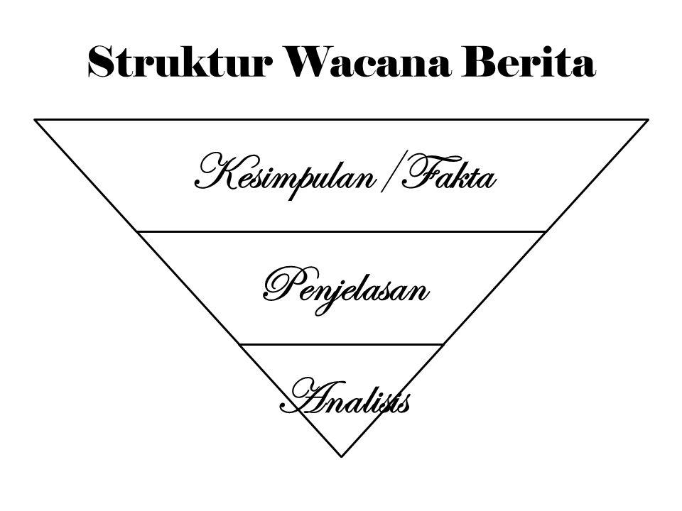 Struktur Wacana Berita