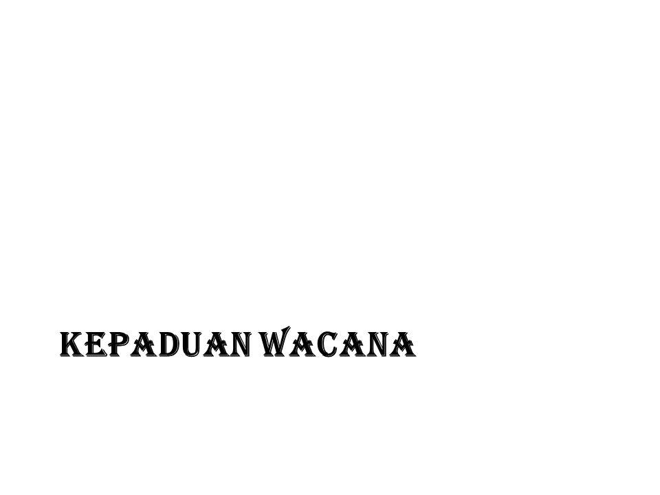 KEPADUAN WACANA