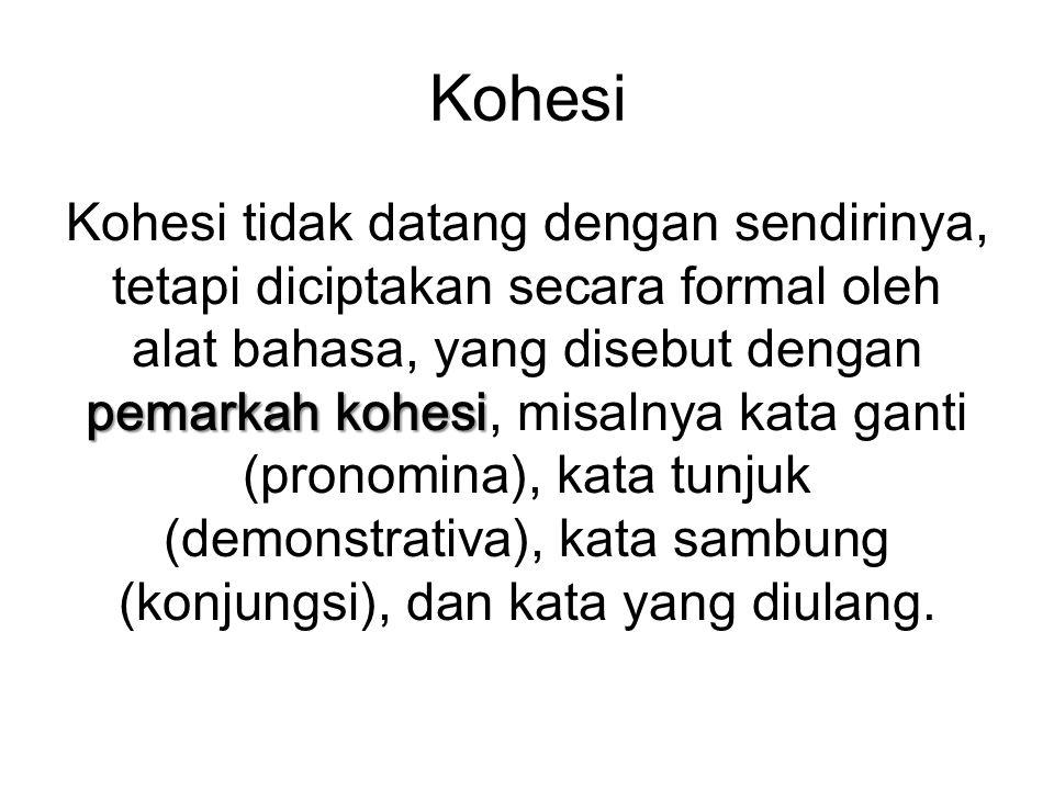 Kohesi