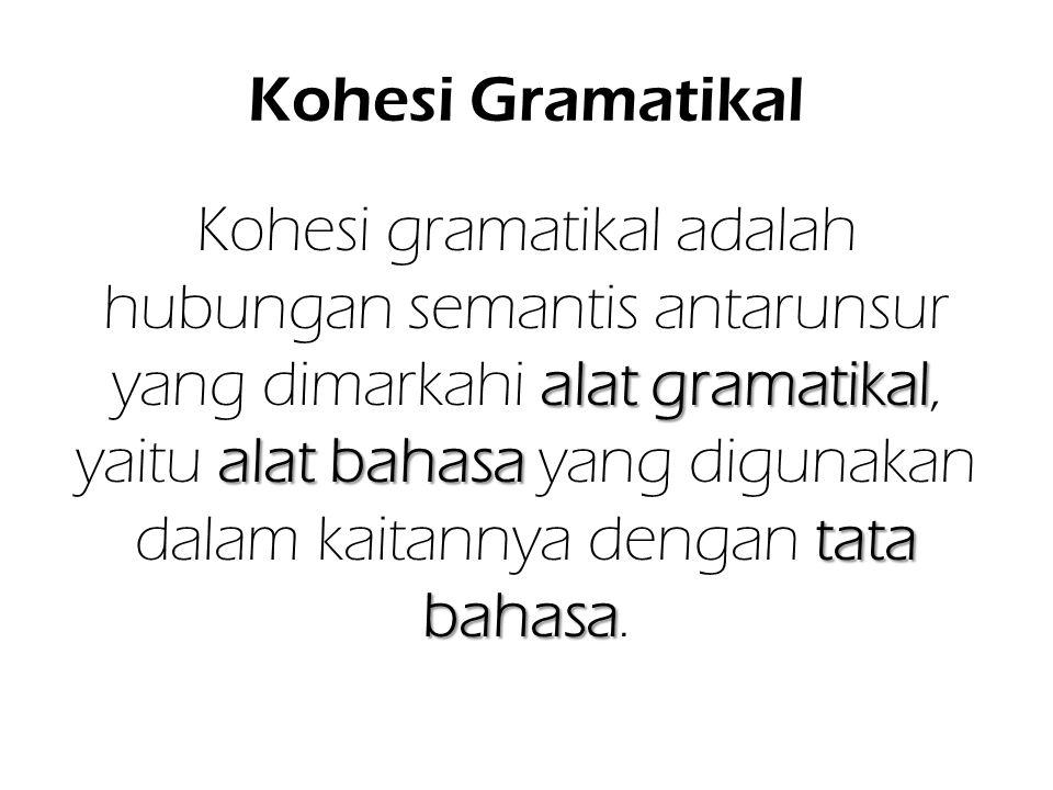 Kohesi Gramatikal
