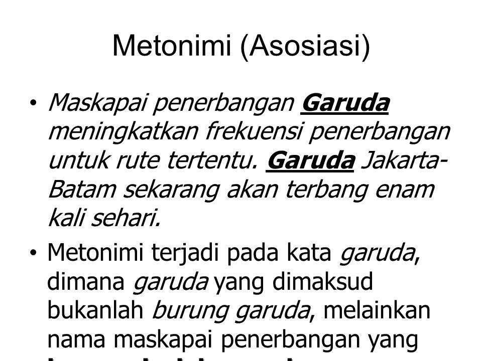 Metonimi (Asosiasi)
