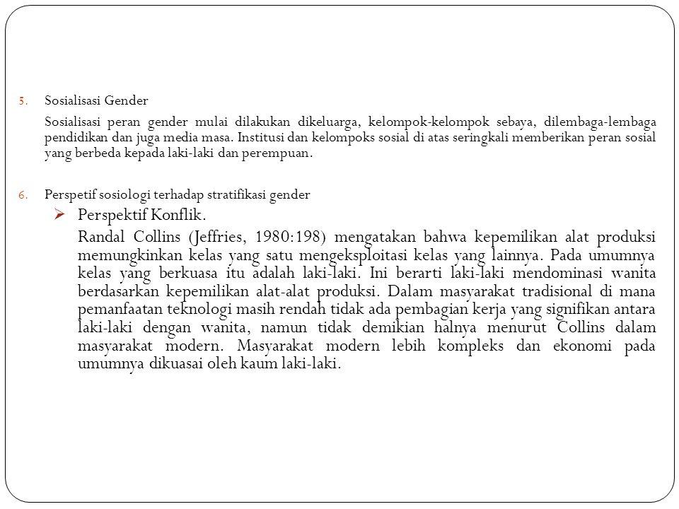 Sosialisasi Gender