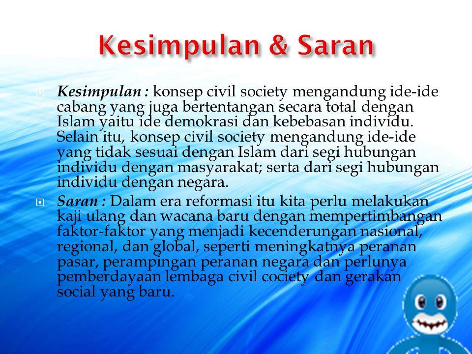 Kesimpulan & Saran