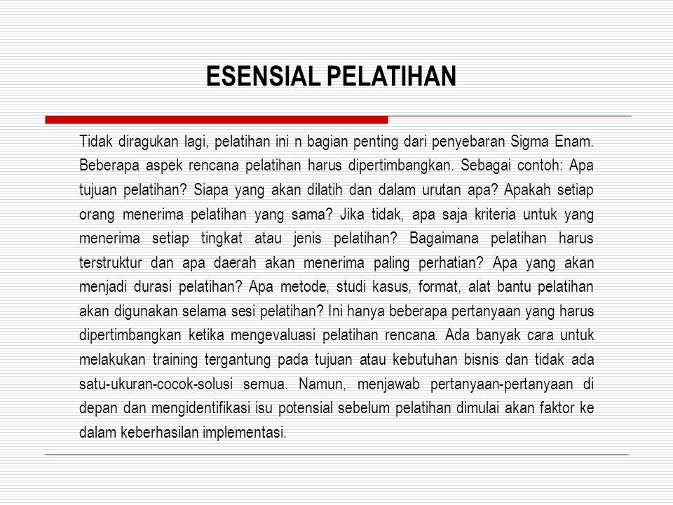ESENSIAL PELATIHAN