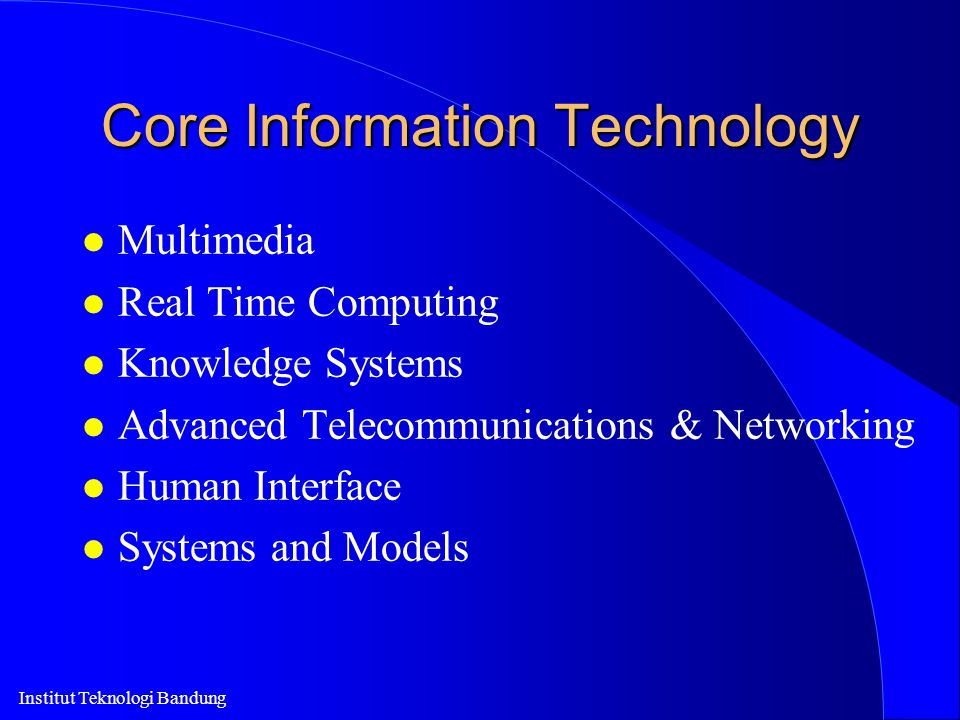 Core Information Technology