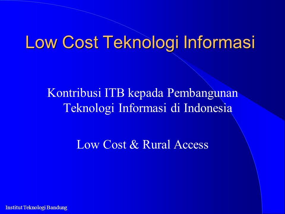 Low Cost Teknologi Informasi